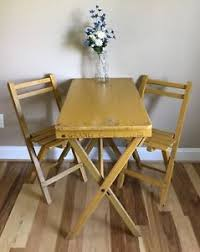 Yellow Bistro Chairs Antique Yellow Wood Cafe Bistro Table Two Chairs