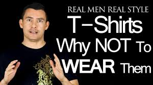 why a t shirt does not complement most male body types mens