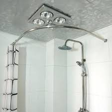 Tension Shower Curtain Rod Tension Rod Ideawall Co