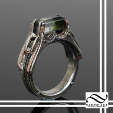 gem art rings images Handmade watermelon steampunk engagement ring by earth art gem jpg