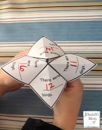 math games word problem fortune teller