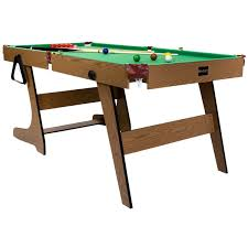 6 ft billiard table premium 6ft pub style folding snooker and english pool table