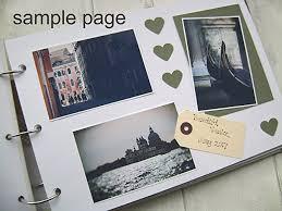 500 page photo album personalised a4 size photo album scrapbook travel adventure