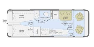100 winnebago floor plans class a winnebago suncruiser rvs
