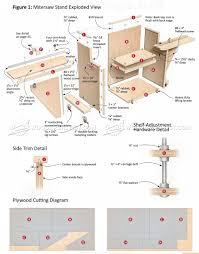 mobile miter saw stand plans u2022 woodarchivist