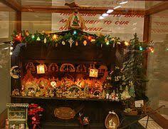 german miniature christmas market stall wooden by dinkyworld