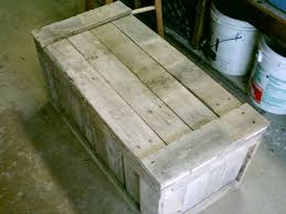 How To Make A Toy Chest Out Of Wood by Best 25 Pallet Toy Boxes Ideas On Pinterest Pallet Trunk