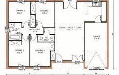 plan de maison 120m2 4 chambres superbe plan de maison 120m2 0 plan maison 120m2 4 chambres evtod