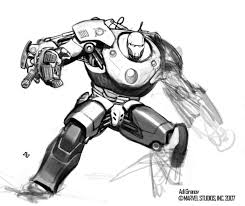 Iron man 2 Costume Concept  Image