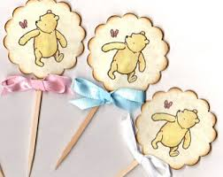 winnie the pooh piglet baby shower welcome sign boy or