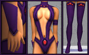 Starfire Costume Mod The Sims Dc Starfire Costume Only