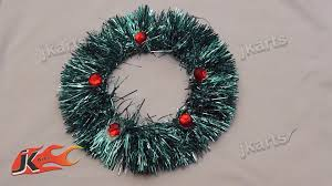 Homemade Christmas Wreaths by How To Make Christmas Wreath Ornament Diy Christmas Decorations