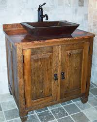 Rustic Bathroom Cabinets Vanities - rustic bathroom vanity plans u2022 bathroom vanity