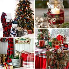 plaid christmas mad about plaid christmas style series the happy housie