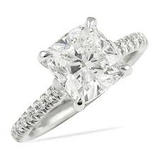2 carat cushion cut diamond lepozzi 2 25 ct cushion cut diamond engagement ring