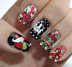 chic u0026 unique holiday nail design lifepopper com