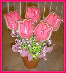cookie bouquet tulips a gallery on flickr