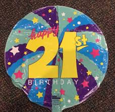 foil balloons 21st birthday foil balloon 18 ronjo magic costumes and party shop