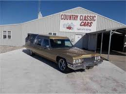 hearse for sale 1973 cadillac hearse for sale classiccars cc 966779