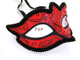black masquerade masks scarlet black trimmed masquerade mask with applied