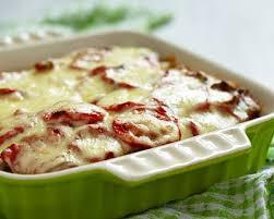 cuisine az tartiflette recette tartiflette aux tomates à la mozzarella facile rapide