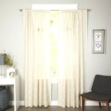Curtains With Rods On Top And Bottom Pocket Rod Curtains Trellis Rod Pocket Curtain Panel How To Make