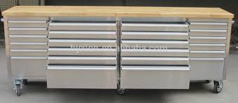 Rolling Tool Chest Work Bench Hyxion New Style Metal Professional Mobile Garage Storage System