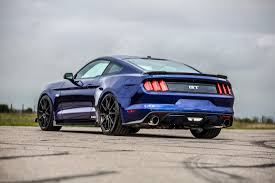 2001 Shelby Mustang 2016 Hpe750 Supercharged In Blue With Hennessey Carbonaero Carbon