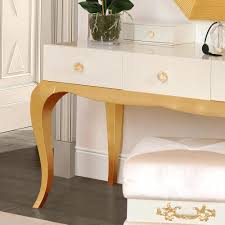 Acrylic Vanity Table Furniture Dressing Tables With Mirror And Stool Vintage Table