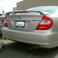 toyota camry spoiler use for toyota camry spoiler 2003 2005 camry spoiler with light