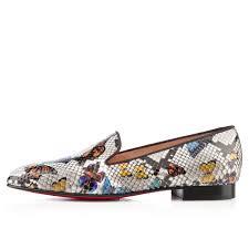 christian louboutin henriette loafers multicolor women loafers