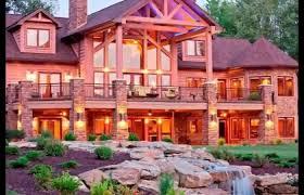 luxury log cabin plans luxury log home plans kits utah builders mountain floor modern