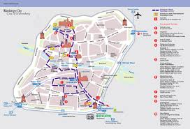 Awc Map Nuremberg Tourist Map Nuremberg Germany U2022 Mappery