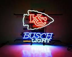 busch light neon sign kc busch light neon sign club vintage patio bistro beer pub bar