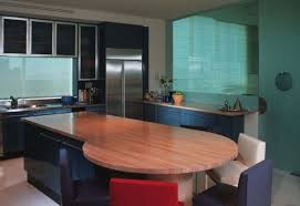 oval kitchen islands 30 kitchen islands with tables a simple but clever combo