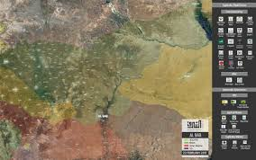 Azaz Syria Via Google Maps by The Current Map Of The Euphrates Shield Operation 22 February