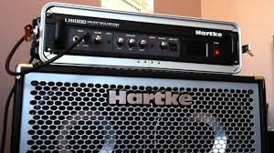hartke 410xl bass cabinet hartke lh1000 and hydrive 410 youtube