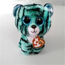 ty beanie boos kids plush toys big font eyes font leona font blue jpg