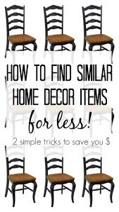how to find similar home decor items for less delightfully noted
