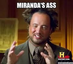 Miranda Meme - ass