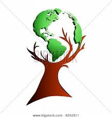 globe tree vector photo bigstock