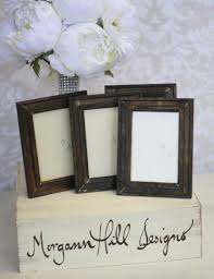 Rustic Shabby Chic Decor by Rustic Wedding Frames Table Number Signs Shabby Chic Decor Set Of