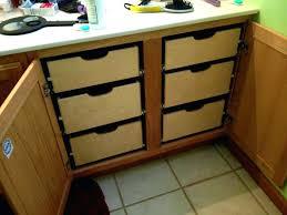 Cabinet Drawers Home Depot - diy slide out storage tasty images bathroom organization pull