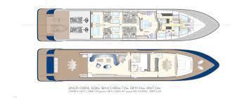 condor layout tecnomar motor yacht superyachts com