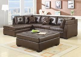 microfiber sectional with ottoman sectional sofa with ottoman awesome porter malibu chocolate brown