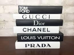 6 books black u0026 white designer book set chanel louis
