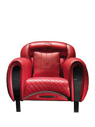Leather Upholstery Chair Carbon Imola Chair In Leather Upholstery With Decorative Metal