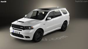 Dodge Durango Srt - 360 view of dodge durango srt 2017 3d model hum3d store