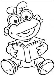 muppet show book muppet show coloring pages