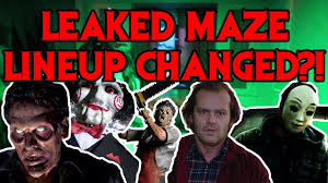 halloween horror nights memes halloween horror nights 2017 leaked maze lineup changed youtube
